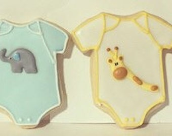 Elephant and Giraffe Baby Shower