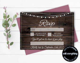Wedding Song Request RSVP Cards - Song Request Cards - Printable Song Request Cards - Instant Download - Wedding Music Song Request Card