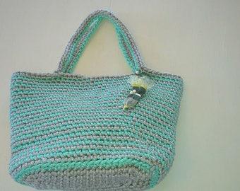 knitted bag, crochet bag, rope bag, market bag, crhochet bag,big bag, summer bag, cord bag, Handmade bag,