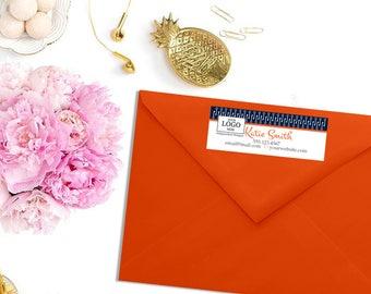 Independent Designer Shipping Return Address Label