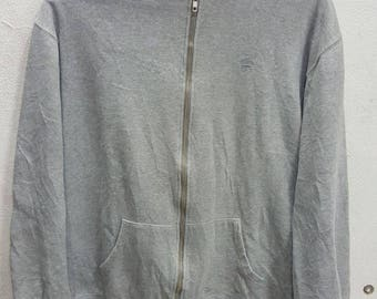 Vintage Supreme Zip Hoodies Sweatshirt X-Large