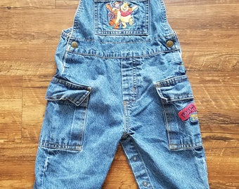 Toddler Winnie The Pooh Overalls