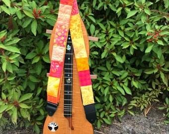Sunny Strap for Mandolin, Dulcimer, Guitar, or Banjo