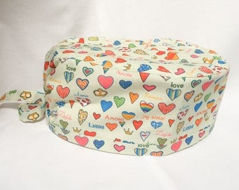 Cuffietta chirurgica - Scrub hat - Love in any language