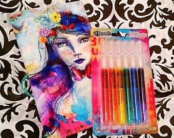 Dylusions Paint Marker Set by Ranger ~ 6 ct.
