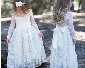 Lace Flowergirl Dress