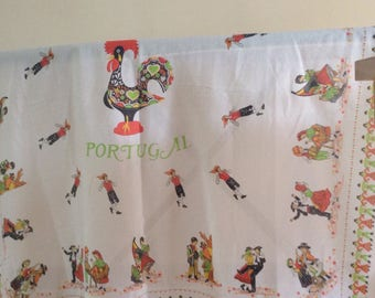 Cotton Tablecloth , portuguese tablecloth ,