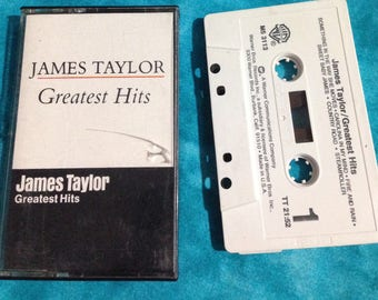 James Taylor audio cassette tape vintage GREATEST HITS