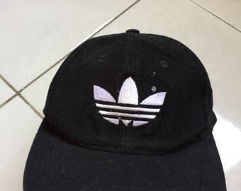 Vintage 90s Adidas Trefoil Cap