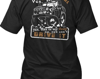 This Is My Jeep T Shirt, I Am A Girl T Shirt