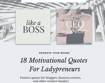 Ladypreneur Motivational Quotes, Graphics For Instagram, Facebook, Twitter, Bloggers And Creatives