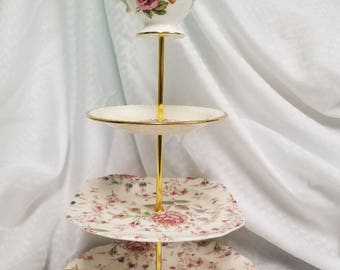 Tier Cake Stand Etsy