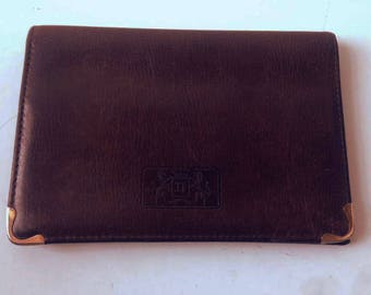 leather wallet vintage Didier Lamarthe