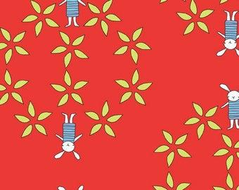 coupon patchwork child Rick RABBIT ANDOVER FABRICS