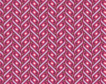 Pink Patchwork fabric Free spirit Joel Dewberry HEIRLOOM
