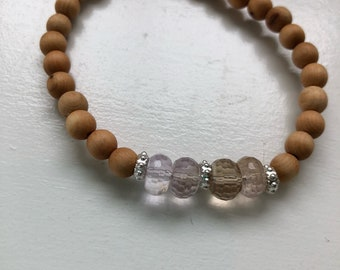 Beautiful natural gemstone bracelet
