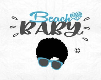 Beach baby summer vacation SVG Clipart Cut Files Silhouette Cameo Svg for Cricut and Vinyl File cutting Digital cuts file DXF Png Pdf Eps
