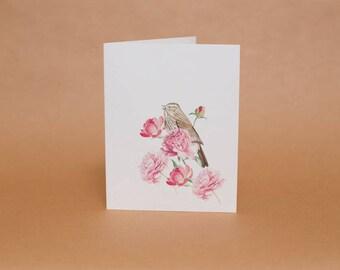 Song Bird Card Set of Five