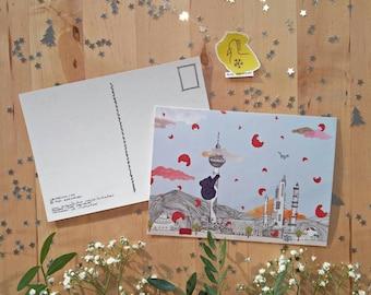 Ührsprunglich Postcard