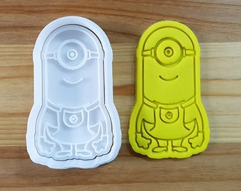 Minions Kevin Cookie Cutter and Stamp
