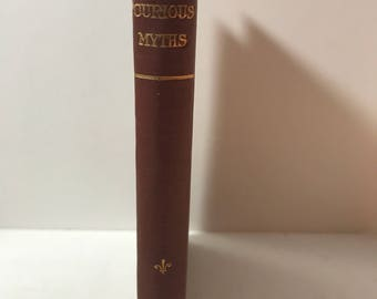 Curious Myths of The Middle Ages by S. Baring-Gould, M.A. 1885 hardcover