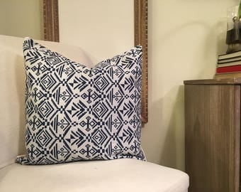 Tribal Patterned Throw Pillow