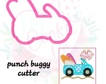 Punch buggy cookie cutter