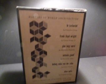 1960 Masters of World Architecture 6 book set