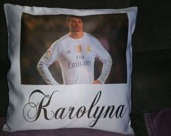 personalized with photo, name or phrase pillow