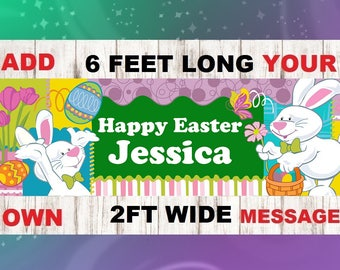 Easter Celebration, Easter Party Decor, Easter Brunch Banner, religious home decor, easter picnic banner,easter brunch decor, easter banner