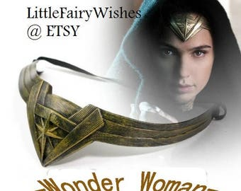 Wonder woman tiara wonder woman cosplay costume accessories Wonder woman headband