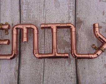Copper Pipe Etsy