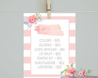 Lipsense/ Lipsense price list/Lipsense marketing material