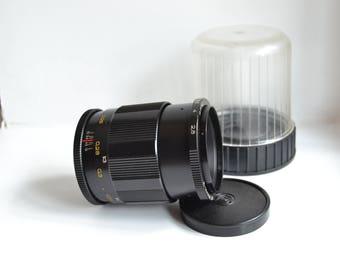MC Volna-9 2.8/50mm Macro lens for M42 Zenit Pentax M Praktica, S/N 865703
