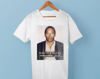 OJ Simpson Mugshot Shirt - Mug Shot Mr Juice - OJ Shirt