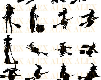 70 off witch svg halloween witch png eps svg dxf - Halloween Which