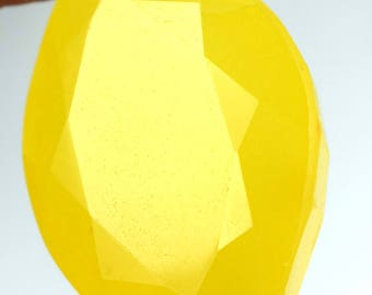 161.35 Ct Natural Marquise Cut Madagascar Yellow Sapphire Loose Gemstone Christmas Sale