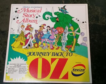 Journey Back to Oz Soundtrack LP Record