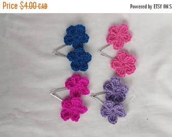 50% Off Flower Hair Clip - Set of 2 - Girls Hair Accessories