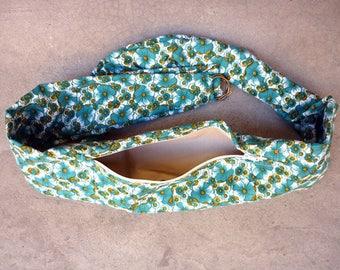 """""""Sun flower"""" belt bag, revisited banana... Size M/L"""