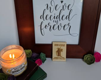 Wood Save the Date Magnet - Yoda { Star Wars, Jedi, The force be with you, Laser Engraved, Geek Wedding, Nerd Wedding }