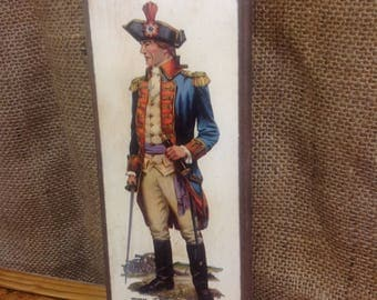 Pair of Vintage Revolutionary War Soldiers