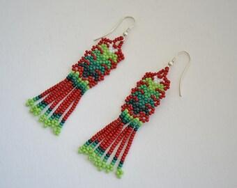 Earrings Chaquira 89