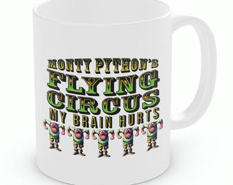 Monty Pythons Flying Circus My Brain Hurts Mug | Monty Python (M211)