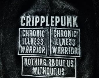 Disability and Chronic Illness or Spoonie patches