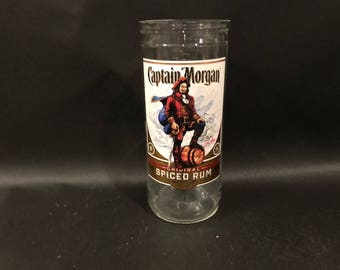 1 Liter Captain Morgan Candle Spiced Rum White Label BOTTLE Soy Candle. Made To Order !!!!! 1 Liter vs 750ML