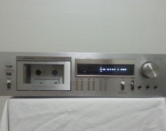 Vintage Pioneer CT-F555 Cassette Deck/Good Working Condition