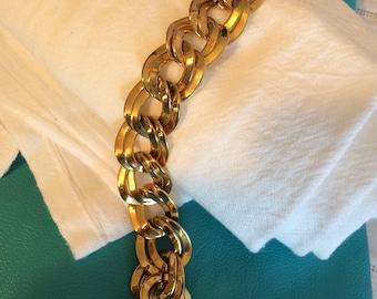 Monet Goldtone Linked Bracelet