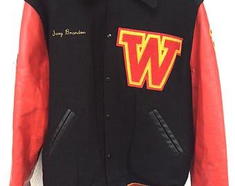 Vintage High School Lettermen's Jacket