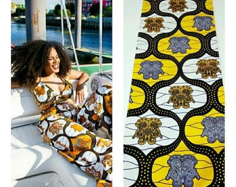 Ankara fabric by the yard, African fabric by the yard, dutch fabric